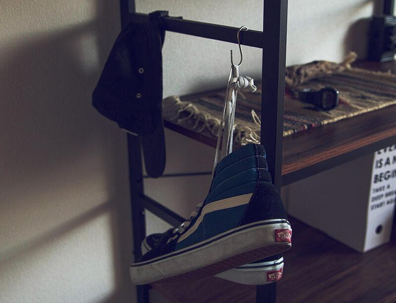 ハイカットのスニーカーの靴紐をゴムに変えたらストレスフリーになった!【NEXARY】