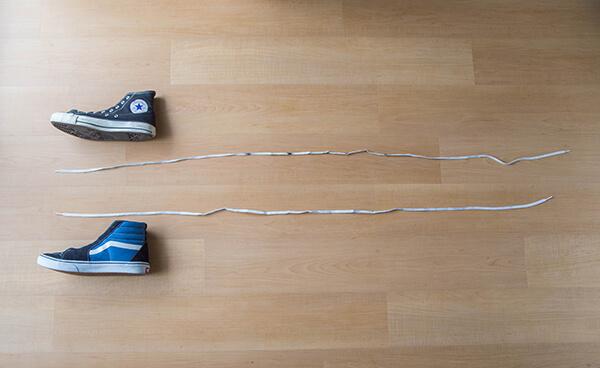 紐の長さの画像