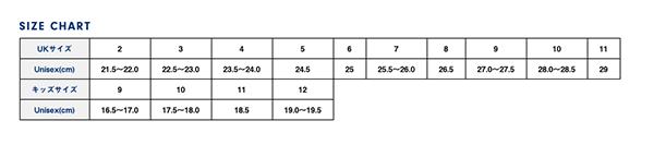 Blundstone(ブランドストーン)サイズ表