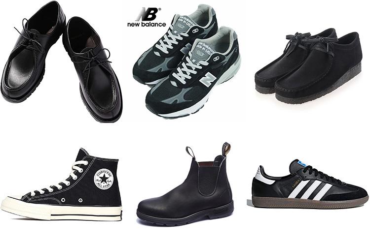 【クレマン ・CT70・ワラビー】メンズおしゃれさんに人気の高い黒のスニーカー&革靴6選!