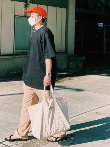 LLBean(エルエルビーン)グローサリートートを使う街のおしゃれさん達